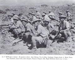 RFM - 1941 RFM-  BFM dans le désert de Libye