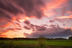 Stormy sunset photo by generalstussner