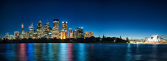 Crystal Clear Sydney Skyline Pano photo by Clint Sharp
