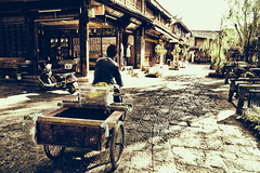 Working in Old Town photo by RaulHudson1986