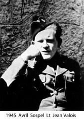 BM 4 Chambarand - 1945 Avril_Fort du Barbonnet_Lt_JeanValois - Fonds Emile Gauthier