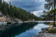 Horseshoe Lake, Jasper National Park photo by murph le