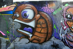 2013 Upfest Bristol - Graffiti Art by Graffiti Artist: Mag1c photo by Andy_Hartley