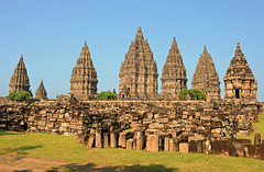 Prambanan, Ancient Hindu Temple Complex in Central Java, Indonesia photo by ollygringo