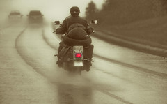 Four wheels move the body;  two wheels move the soul. photo by John A. McCrae