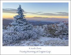 Frosty Morning at Engine Gap photo by R. Keith Clontz