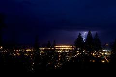 Lightning Strike - Prince George, BC photo by chrisleboe