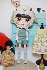 Custom Commissions Blythe Doll. photo by little dolls room