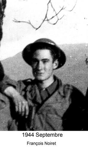 BM4- Chambarand -1944 Septembre- Francois Noiret - Fonds Emile Gauthier