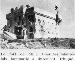 1945 - Authion - Vues de la Redoute des 3 communes