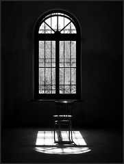 window and an old chair photo by Violen's photography