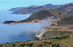Morning Fog, Bixby Creek Bridge, CAa photo by inkknife_2000 (2.5 million + views)