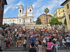 Spanish Steps, Rome, Italy photo by Robby Virus