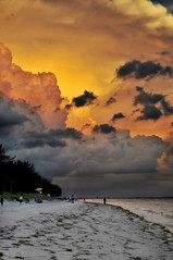 Storm watch at sunset photo by Susan Hall Frazier