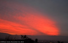 A Colorful Late Sunset Sky (11-14-13) Photo #1 photo by 54StorminWillyGJ54
