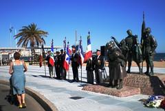 Fréjus - Monument Armée Noire - Dépôt de gerbe - 2010