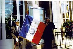22 BMNA- Fanion de l'Amicale du 22e Bmna - Col. René Petitot