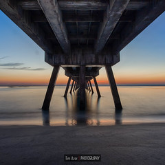 Deerfield Beach Pier before  Sunrise photo by Tim Azar