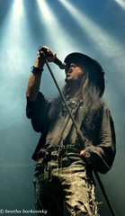 FIELDS OF THE NEPHILIM - POLAND KRAKÓW 2014 photo by Beatha Borkowsky