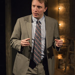 John Hoogenakker (Dermot) in PORT AUTHORITY at Writers Theatre. Photo by Michael Brosilow.