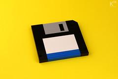 Floppy Disk (HARDnuary 2014) photo by KOS brick