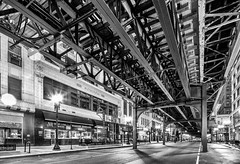 Wabash Under the L photo by Chris Smith/Out of Chicago