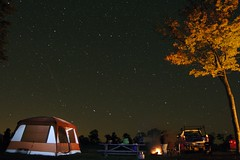 Camping photo by mgstyer