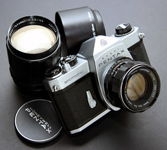 Early Pentax Spotmatic SP SLR - 1965 photo by Casual Camera Collector