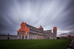 The Day's Last Light in Piazza dei Miracoli photo by Vaidas M