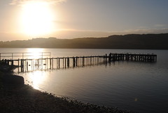 Loch Lomond end jetty photo by Claudia Marie Gristwood