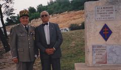 Authion - Le Général Saint Hillier à gauche- col.Wladislas Picuira