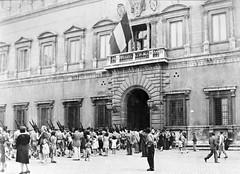 BIMP- 1944 - Italie Entrée au Palais Farnese à Rome