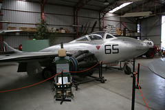Vampire T.35 A79-665 Bankstown photo by joolsgriff