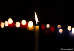 Candle bokeh [Explored 4th August 2013] photo by Graham Cashell (GC_Photography)