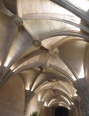 Dans le château de Chenonceau, le plafond de l'entrée photo by anne arnould