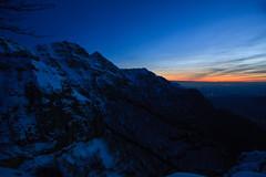 il Primo Tramonto dell'Anno photo by Roveclimb