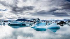 Glacier lagoon Jökulsárlón, southern Iceland photo by Páll Guðjónsson
