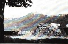 1944- Italie - Montefiascone - emplacement pièce antichar ou fut tué Leroy du BM 4 le 11 06 1944  - Source- 20 ans en 1940 par Henri Beauge-Berube