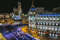 Metropolis Building Madrid photo by iwillbehomesoon