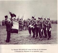 RA- le 1er RA Compagnonde la libération à Chelles