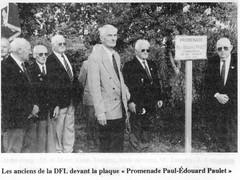 RA- Douarnenez plaque : promenade Paulet - 26 sept 98