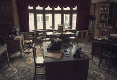 Office at Bletchley photo by Paul Hurst