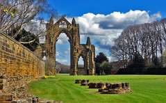 Guisborough Priory 9 - Cloudy Sky photo by philb1959