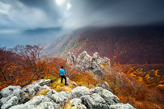 Man And the Mountain photo by Evgeni Dinev