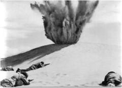 1942 Bir Hakeim - Bombardement