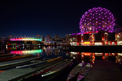 BC Place Glowing Colours of the Rainbow with Pride photo by どこでもいっしょ