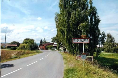 Entree village Illhaeusern -  Alain Ott