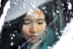 Girl, Heart, and Snow photo by Kevin Casey Fleming
