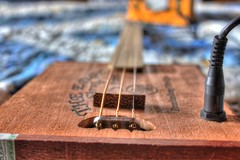 Cigar Box Guitar (CBG) Bokeh photo by mazzmn