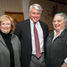 Doreen Parsley Davis, GCDC Chair, Rich McNally, 3rd Judicial District Judge, and Cindy Hall, Columbia County Democratic Committee Chair